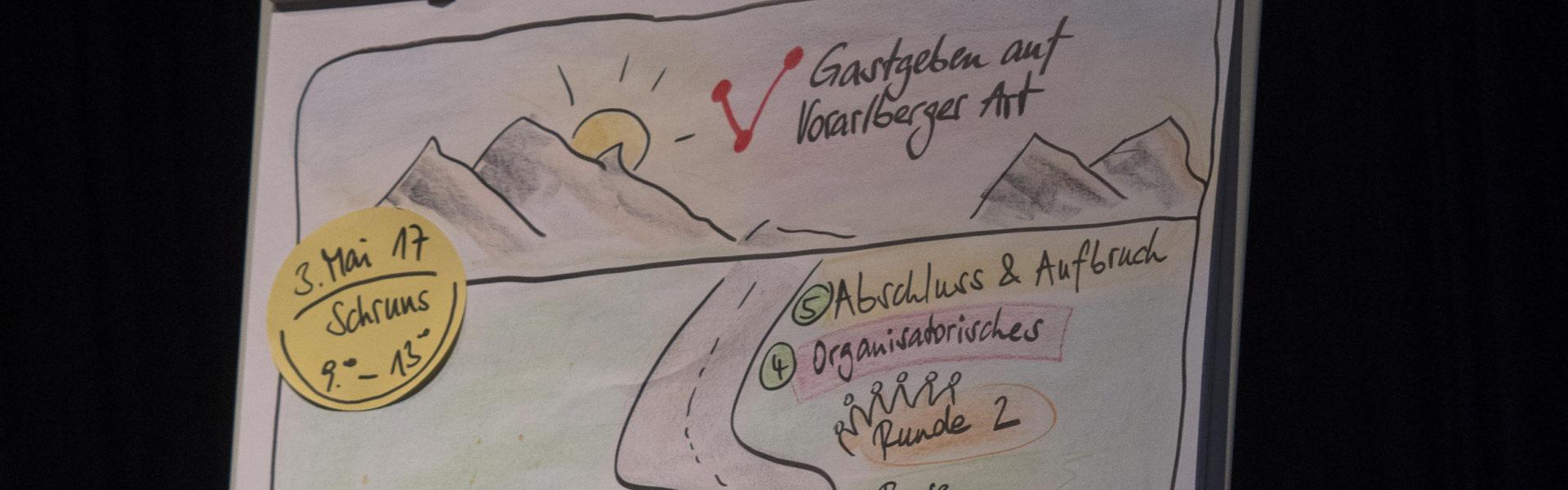Der Weg zur Gastgeber_in auf Vorarlberger Art