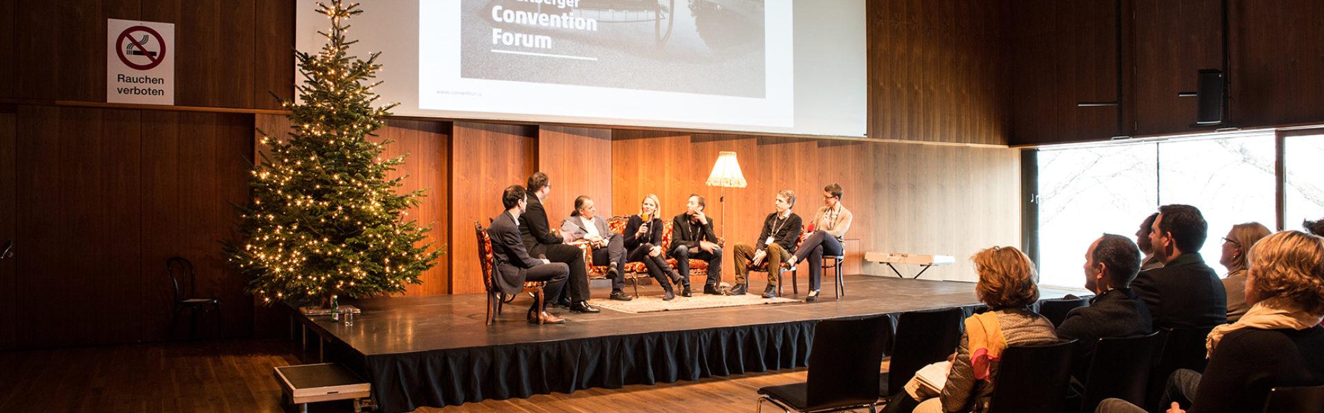 7. Vorarlberger Convention Forum, 13.12.2017, Bregenz, (c) Roswitha Schneider