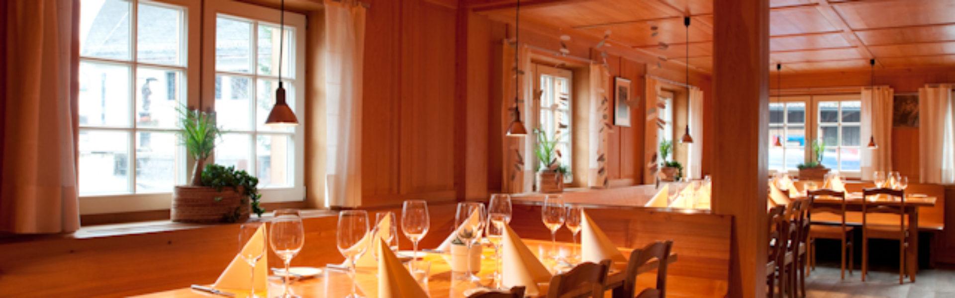 Restaurant Schiffle, Mühlebach, Dornbirn (c) Restaurant Schiffle