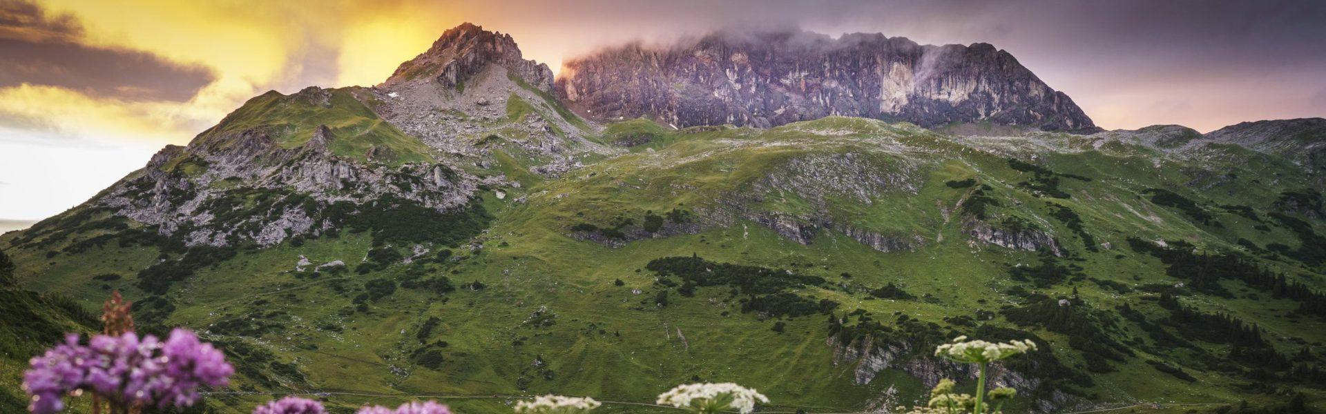 Formarinsee und Rote Wand (c) Dietmar Denger / Vorarlberg Tourismus