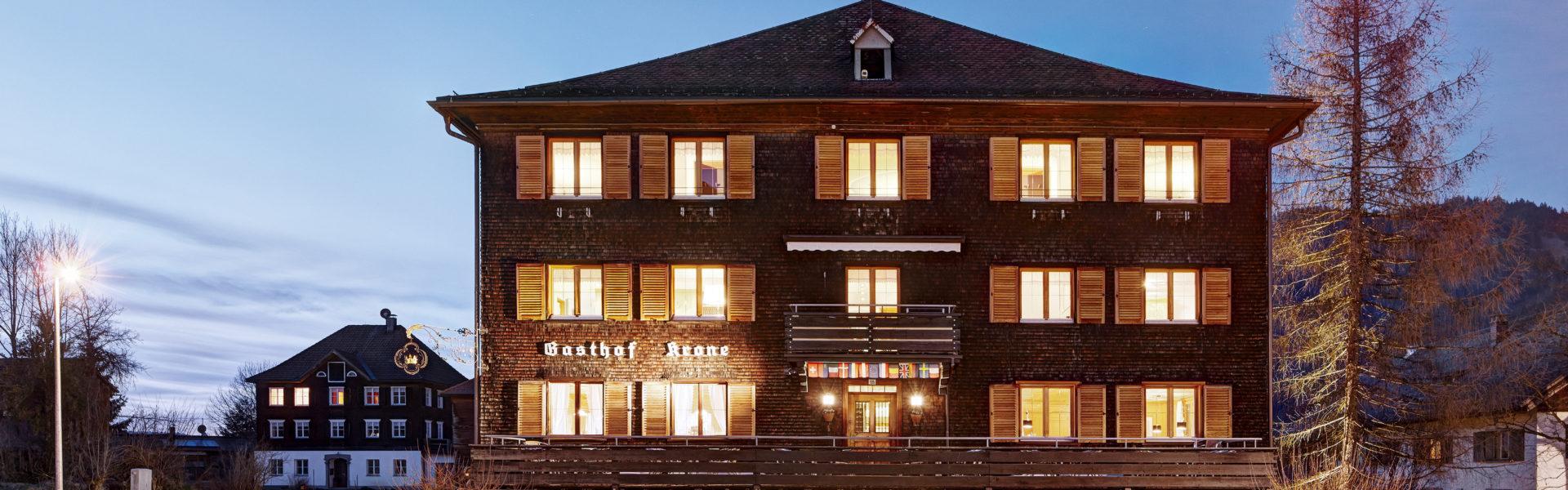 Hotel Gasthaus Krone, Hittisau, (c) Hotel Krone