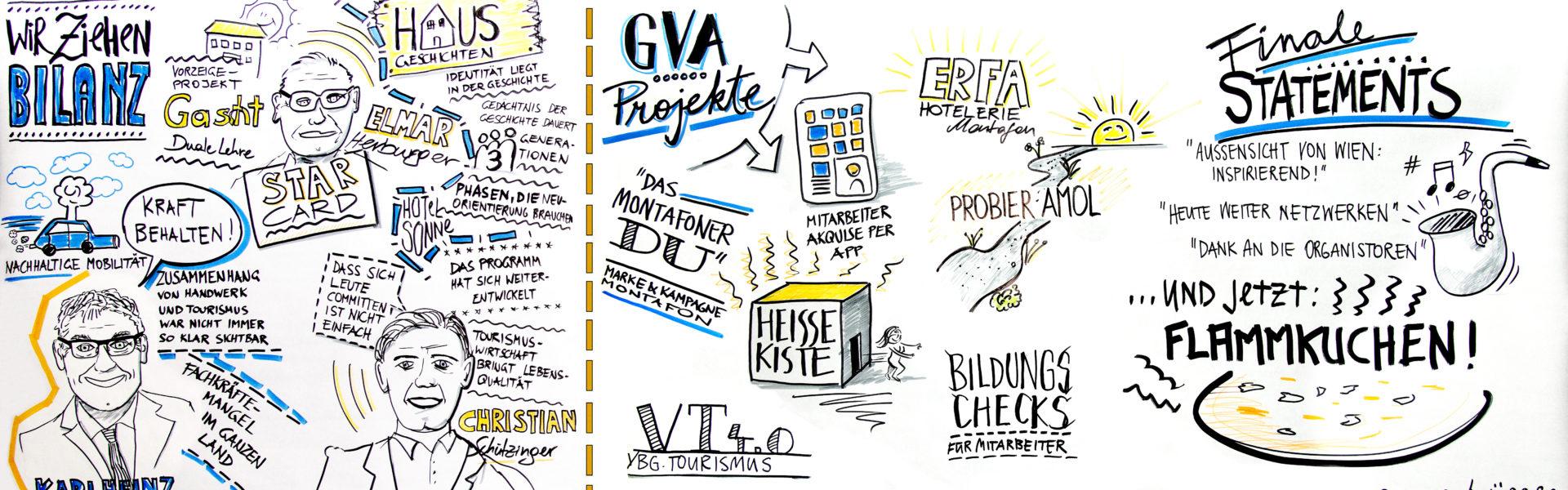 Symposion zum Thema Vernetzung von Gastgeben auf Vorarlberger Art (c) Christa Engstler / Vorarlberg Tourismus