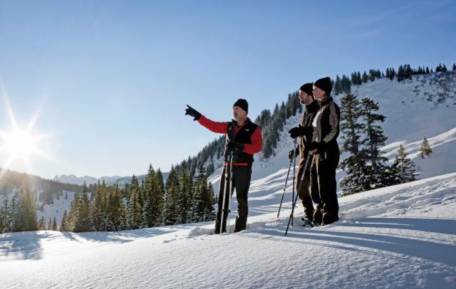 Schneeschuhwandern Bregenzerwald © Karin Nussbaumer / Vorarlberg Tourismus